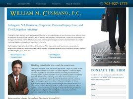 William M. Cusmano, P.C. (Arlington, Virginia)