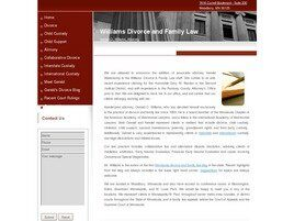 Williams Divorce and Family Law (Hennepin Co., Minnesota)