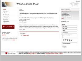 Williams & Mills, PLLC (Henderson Co., North Carolina)
