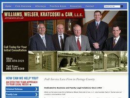Williams, Welser, Kratcoski & Can, LLC (Akron, Ohio)