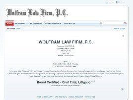 Wolfram Law Firm, P.C. (Amarillo, Texas)