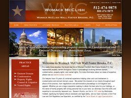 Womack McClish Wall Foster Brooks, P.C. (Austin, Texas)