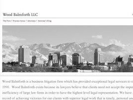 Wood Balmforth LLC (Salt Lake City, Utah)