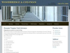 Woodbridge & Coleman, Attorney at Law (Fredericksburg, Virginia)