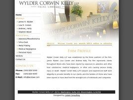 Wylder Corwin Kelly LLP (McLean Co., Illinois)