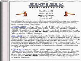 Zeller, Hoff & Zeller, Inc. (Fairfield, California)