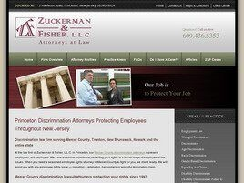 Zuckerman & Fisher, LLC (Mercer Co., New Jersey)
