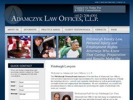 Adamczyk Law Offices L.L.P. (Pittsburgh,  PA)