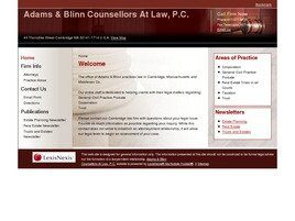 Adams & Blinn Counsellors At Law, P.C.(Cambridge, Massachusetts)