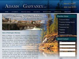 Adams & Gaffaney, LLP (Post Falls, Idaho)