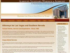 Albright, Stoddard, Warnick & Albright A Professional Corporation (Las Vegas,  NV)