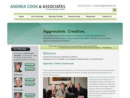 Andrea Cook & Associates A Law Corporation (Riverside Co.,   CA )