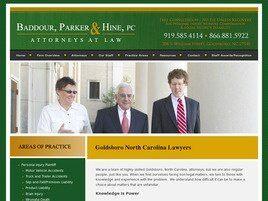 Baddour, Parker & Hine, P.C. (Goldsboro, North Carolina)
