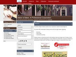 Baker & Baker A Professional Corporation (Aliso Viejo,  CA)