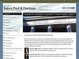 Baker, Paul & Dorman A Partnership of Professional Associations (Bradenton,  FL)