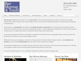 Barr, Murman & Tonelli, P.A. (Tampa, Florida)