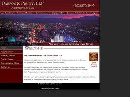 Barron & Pruitt, LLP (Clark Co.,   NV )
