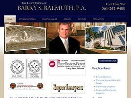 Barry S. Balmuth, P.A. (City Of Sunrise,  FL)