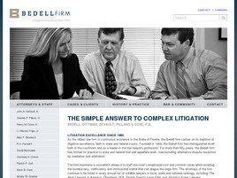 Bedell, Dittmar, DeVault, Pillans & Coxe A Professional Association (Jacksonville, Florida)