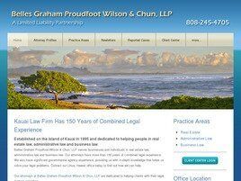 Belles Graham Proudfoot Wilson & Chun, LLP A Limited Liability Partnership (Lihue, Hawaii)