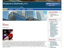 Benjamin & DesPortes, P.C. ( Richmond,  VA )