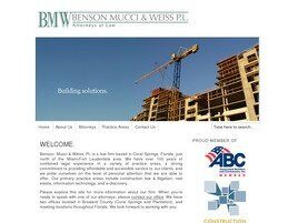 Benson, Mucci & Weiss, LLP (City Of Sunrise,  FL)