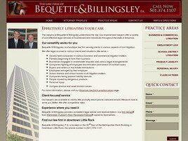 Bequette & Billingsley, P.A. (Conway,  AR)