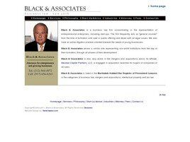 Black & Associates ( New York,  NY )