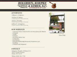 Bolgrien, Koepke & Kimes, S.C. (Beloit, Wisconsin)