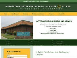 Law Offices of Peterson, Burnell, Glauser & Allred A Professional Corporation(El Cajon, California)