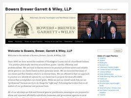 Bowers, Brewer, Garrett & Wiley LLP (Huntington, Indiana)