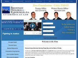 Brennan, Holden & Kavouklis, P.A. (Tampa, Florida)