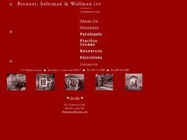 Brenner, Saltzman & Wallman LLP (West Haven,  CT)