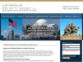 Law Office of Brian V. Ebert, P.C. (Fairfax,  VA)