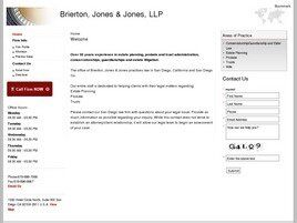 Brierton, Jones & Jones, LLP (San Diego, California)