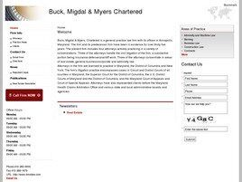 Buck, Migdal & Cuches, Chartered (Annapolis, Maryland)