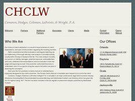 Cameron, Hodges, Coleman, LaPointe & Wright, P.A.(Orlando, Florida)