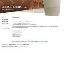 Campbell & Riggs A Professional Corporation (Harris Co.,   TX )