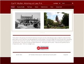 Carl F. Muller Attorney at Law, P.A. ( Greenville,  SC )