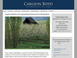 Carlson Boyd PLLC (Yakima, Washington)
