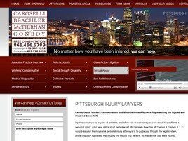 Caroselli, Beachler, McTiernan & Coleman, LLC ( Washington,  PA )