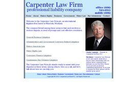 Carpenter Law Firm plc ( Missoula,  MT )