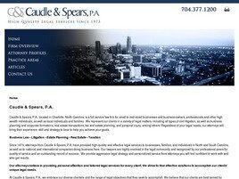Caudle & Spears, P.A. ( Charlotte,  NC )
