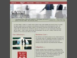 Cavitch, Familo & Durkin Co., LPA (Cleveland, Ohio)