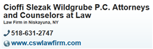 Cioffi Slezak Wildgrube P.C. Attorneys and Counselors at Law ( Albany,  NY )