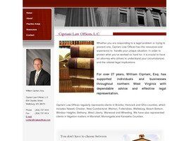 Cipriani Law Offices, L.C. ( Weirton,  WV )