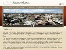 Clifford & Brown A Professional Corporation ( Fresno,  CA )