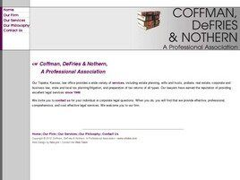 Coffman, DeFries & Nothern A Professional Association ( Wichita,  KS )