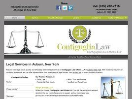 Contiguglia Law Offices LLP ( Auburn,  NY )