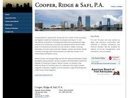 Cooper, Ridge & Safi, P.A.(Jacksonville, Florida)
